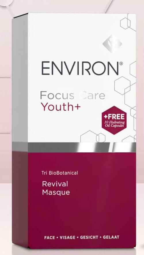 Buy the Focus Care Youth+ Revival Masque & Get 10 Moisture+ Hydrating Capsules FREE
